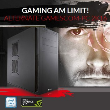 Alternate GAMESCOM Premium Gaming PC nur 1.199 €