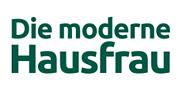 Die moderne Hausfrau-Logo