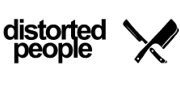 distorted people-Logo