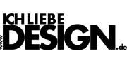 Ich liebe Design-Logo