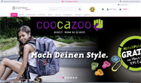 Schulranzen-Onlineshop-Screenshot