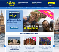 London Pass-Homepage