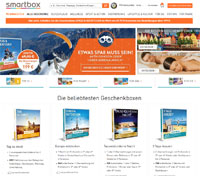 Smartbox-Homepage