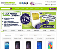 getmobile-Homepage