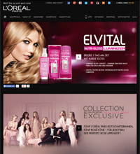 L'Oréal-Screenshot