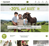 Alpenwelt-Screenshot