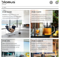 Blomus-Screenshot