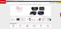 Staples-Homepage