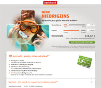 norisbank-Homepage
