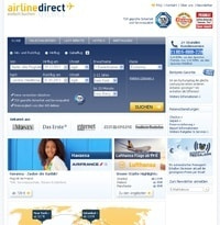 airline direct-Homepage