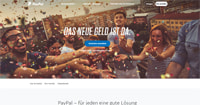 PayPal-Homepage