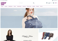 CATRUN Shop-Homepage