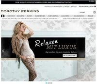 Dorothy Perkins-Screenshot