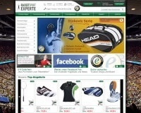 Racketsport Experte-Homepage