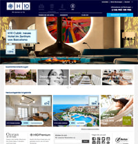 H10 Hotels-Homepage