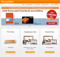 Handelsblatt-Screenshot