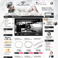 Aurum Jewelry-Homepage