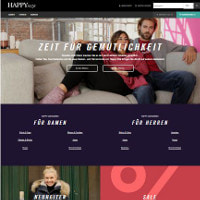 Happy Size-Homepage