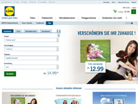 Lidl Fotos-Homepage