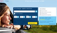 TUI Cars-Homepage