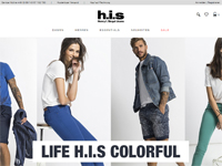 H.I.S-Homepage