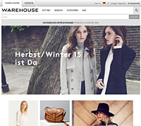 Warehouse-Homepage