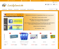LuckyLens-Homepage