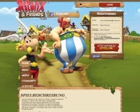 Asterix & Friends-Homepage