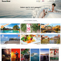 TravelBird-Homepage
