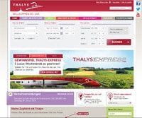 Thalys-Homepage