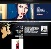 Max Factor-Homepage