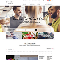 Holmes Place-Homepage