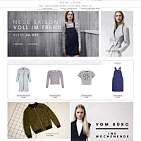 NEW LOOK-Homepage