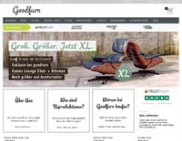 Goodfurn-Homepage