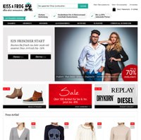 KISSaFROG-Homepage