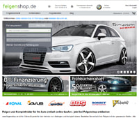 Felgenshop-Screenshot
