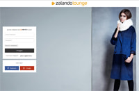 Zalando Lounge-Screenshot