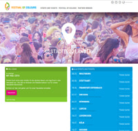 Holi Festival of Colours-Homepage