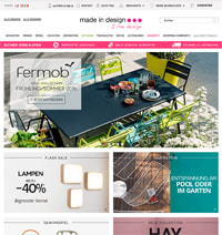 Made in Design-Homepage