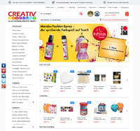 Creativ-Discount-Homepage