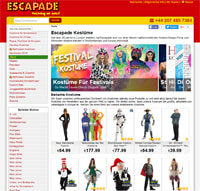 Escapade-Homepage