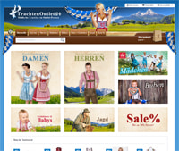 Trachtenoutlet24-Homepage