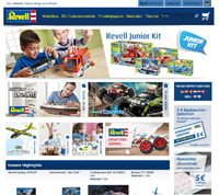 Revell-Homepage
