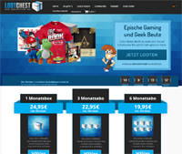 lootchest-Homepage