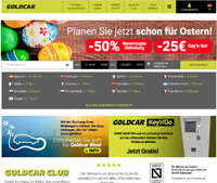 Goldcar-Homepage