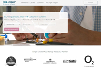 clickrepair-Homepage