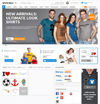Shirtinator-Homepage