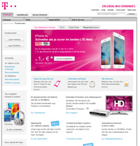Telekom-Screenshot