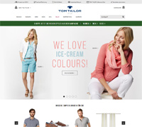 TOM TAILOR-Homepage