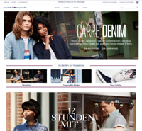 Tommy Hilfiger-Homepage